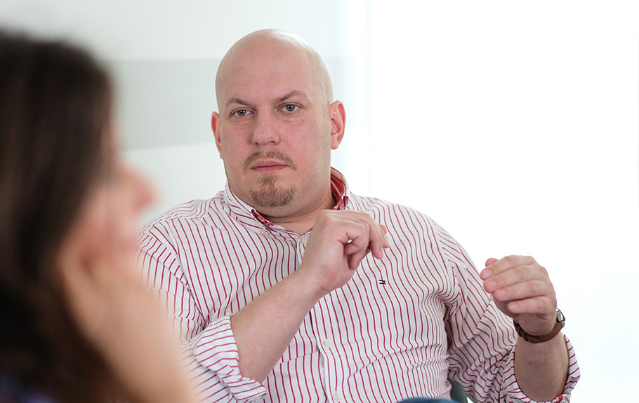 Psychotherapie Gesprächssituation